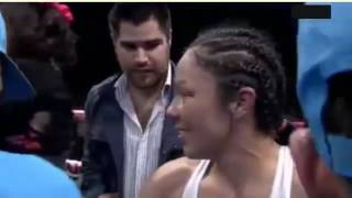 Jackie Nava vs Mayra Gomez TKO 6 FULL FIGHT WBA WBC Super Batanweight Title in Mexico