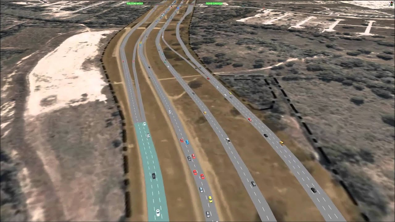 Loop 1604 between US 90 and FM 1957 (Potranco Road) - YouTube
