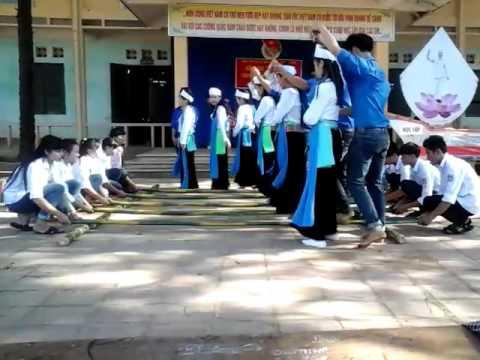 Nhảy sạp Tiết mục cuối của lớp 12a3 THPT Đại Đồng