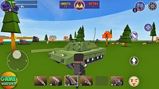 PIXELS UNKNOWN BATTLE GROUND Simulator Android GamePlay Shooter Game