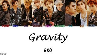 【認人繁中韓字】EXO(엑소)-Gravity [Color Coded Lyrics Han/Rom/Chinese subs]