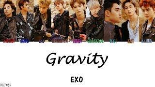 【認人繁中韓字】EXO(엑소)-Gravity [Color Coded Lyrics Han/Rom/Chinese subs]