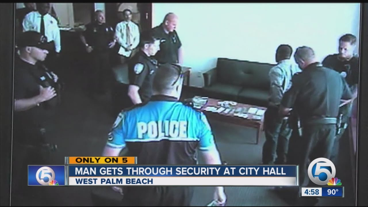 Former Employee Dodges Security Storms West Palm Beach City Hall
