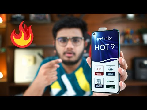 infinix Hot 9 First Look | Hand's On Review