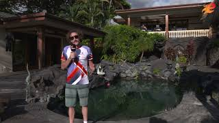 Tim Don at the ZWIFT House in KONA 2019 by endurance sports tv