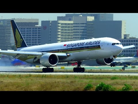 LOS ANGELES LAX Planespotting Compilation (2017) - incl.: A380, 747F, 777, 787, 767, 757, 717, E175