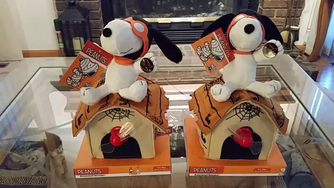 halloween baron snoopy flying doghouse 572054 - youtube
