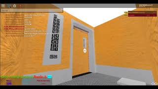 COOLEST Service Elevator in a Roblox Hotel EVER SEEN!!!!