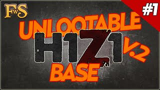 H1z1 Unlootable Base Design - Safest Base - H1z1 Guide #1 V.2