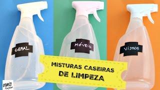 5 MISTURAS CASEIRAS E EFICIENTES DE LIMPEZA (AMO!) | Organize sem Frescuras! thumbnail