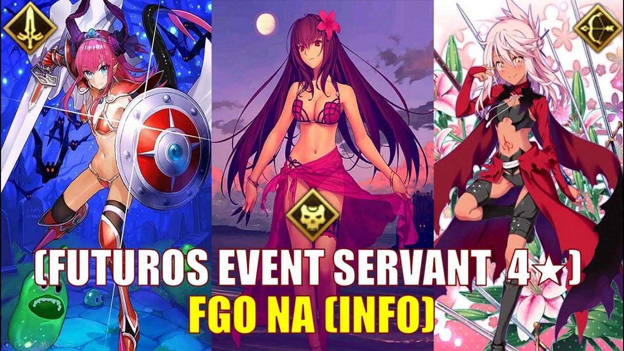 [FGO] NA **Fate/Grand Order - Futuros Event Servants 4★** 2018 (Sin Spoiler)