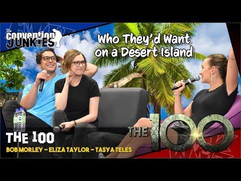 The 100's Bob Morley, Eliza Taylor & Tasya Teles On Who They'd Want On A Desert Island