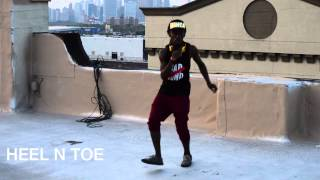 How to dance dancehall: HEEL N TOE - Blacka Di Danca
