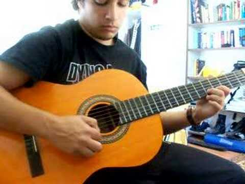sadness and sorrow naruto on guitar - YouTube
