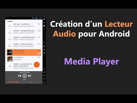 Android - MediaPlayer, music player android github