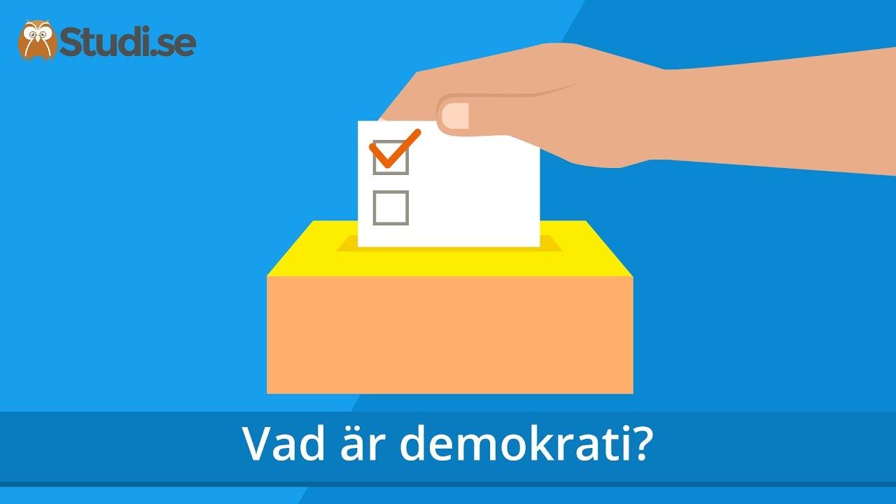 An ar demokratierna i minoritet