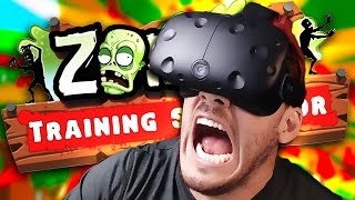 QUICK-DRAW McMARKIPLIER | Zombie Training Simulator - VIVE