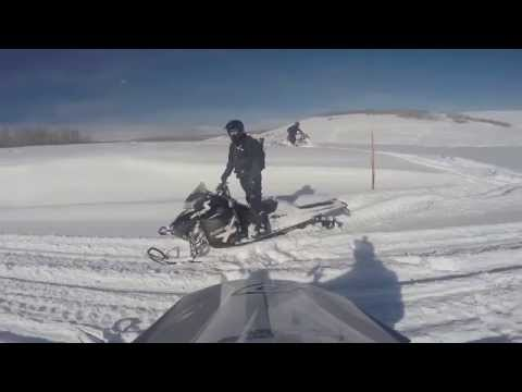Snowmobiling Strawberry Reservoir Utah