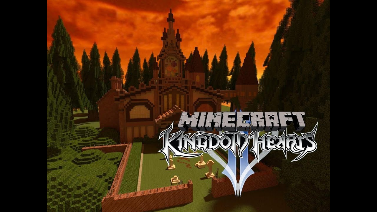 Minecraft Kingdom Hearts II: Twilight Town UPDATE! (60fps) - YouTube