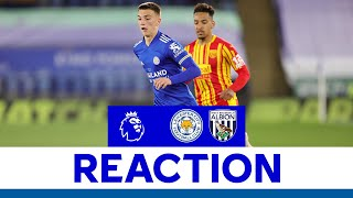 'An Honour To Be Involved' - Luke Thomas   Leicester City 3 West Bromwich Albion 0