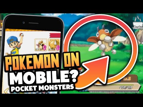 "ANOTHER MOBILE POKEMON!? ""Pocket Monster"" - (Pokemon Game On Android & ios!)"