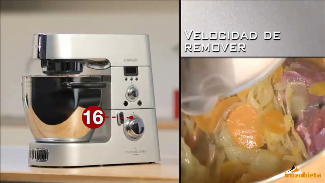 Guia de Inicio Robot de cocina Cooking Chef de Kenwood - YouTube