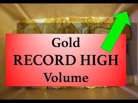 Gold & Silver Price Update - October 4, 2017 + Record High Gold Volume
