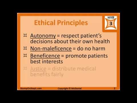 Ethics & Legal for USMLE Step 1