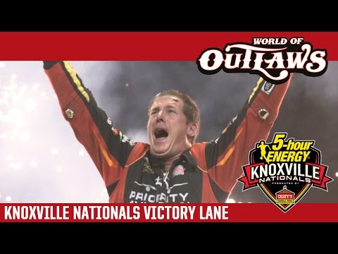 2016 World of Outlaws Craftsman Sprint Car Series Victory Lane | 56th Annual Knoxville Nationals