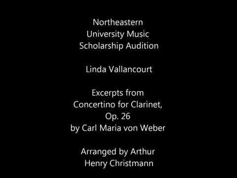 Northeastern University Music Scholarship Audition