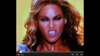 beyonce exposed demon posessed