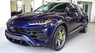 Delivery of a 2019 Lamborghini URUS in Blu Astraeus!!!