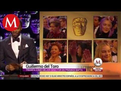 Guillermo del Toro se lleva el premio a Mejor Director en los BAFTA