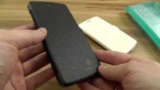 Обзор: Удобный брендовый чехол-книжка Nillkin для LG Nexus 5 D820/D821 | Электробум.com.ua