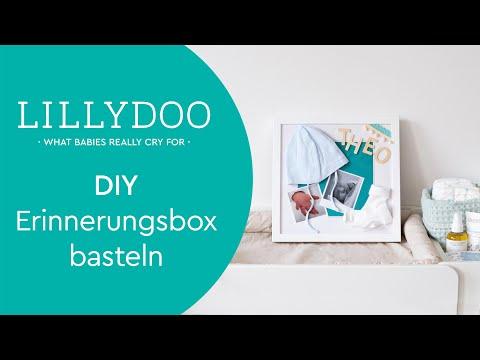 Baby-Erinnerungsbox selber basteln