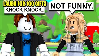 IF YOU LAUGH, I Give You 100 FREE GIFTS! (Roblox)