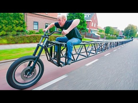 Thumbnail: 10 STRANGEST BIKES IN THE WORLD