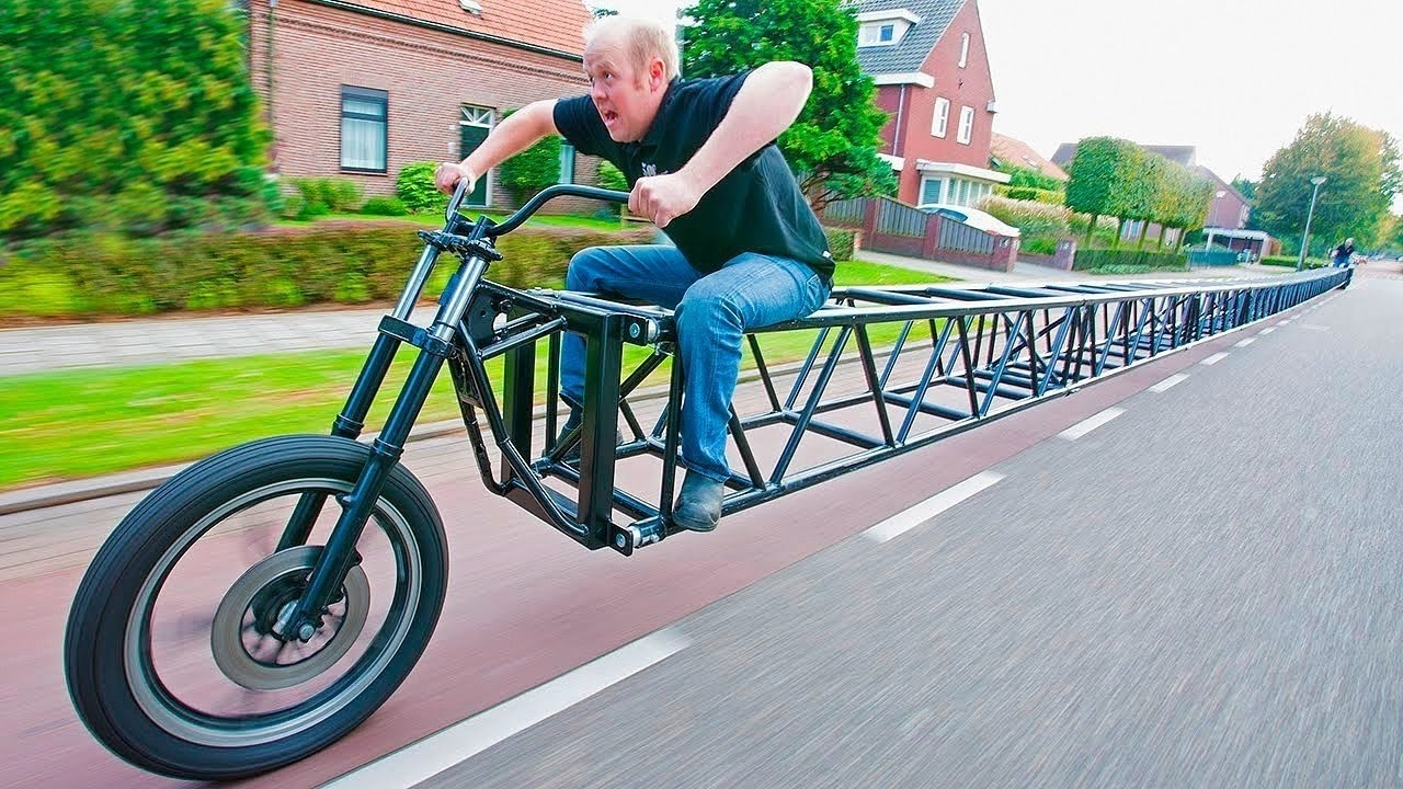 The most unusual bikes in the world that you want to ride