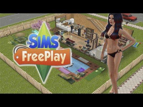 Обзор игры Sims FreePlay на IPad