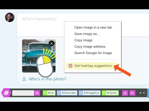 RiteTag Extension 2.0: Hashtag Suggestions For Images, Words And Text Blocks