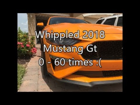 2018 Mustang GT 5.0 Stage 1 Whipple 0-60 times