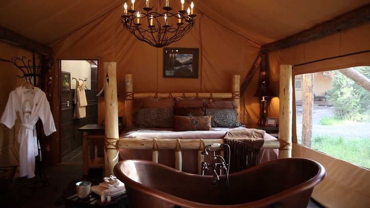 Glamping at Paws Up - The Resort at Paws Up