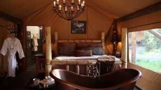 Glamping in Montana at The Resort at Paws Up