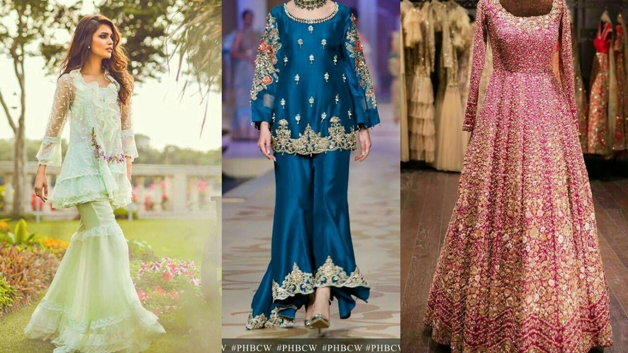 5b2b4373ac2 Latest   Elegant Party Wear Dresses Design For Girls  Top Stylish Dresses  Design For Girls 2017-18