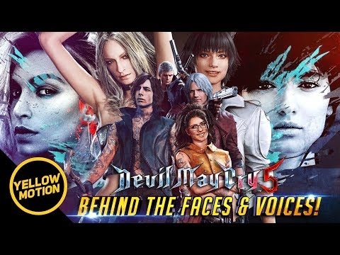 DEVIL MAY CRY 5 Meet the Models and Voice Artists Behind The Cast [ Lady Trish Nico V Dante Nero ] thumbnail