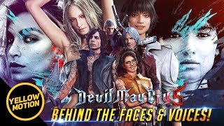 DEVIL MAY CRY 5 Meet the Models and Voice Artists Behind The Cast [ Lady Trish Nico V Dante Nero ]