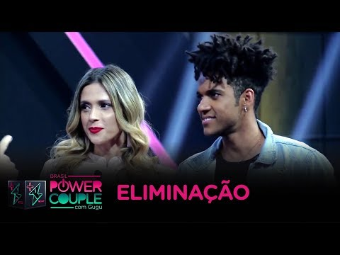 D'Black e Nadja são eliminados do Power Couple Brasil