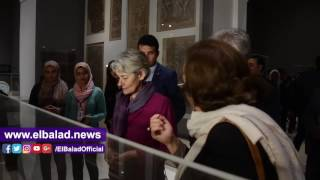 مديرة اليونسكو فى زيارة لمتحف الفن الإسلامي لتفقد أعمال الترميم.. فيديو وصور
