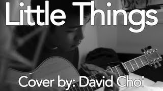 Little Things by One Direction (Cover by David Choi) | FREE DOWNLOAD