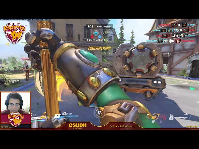 Overwatch Casual Practice ft. 3DHizzy & kb6eyc - CSUDH Esports